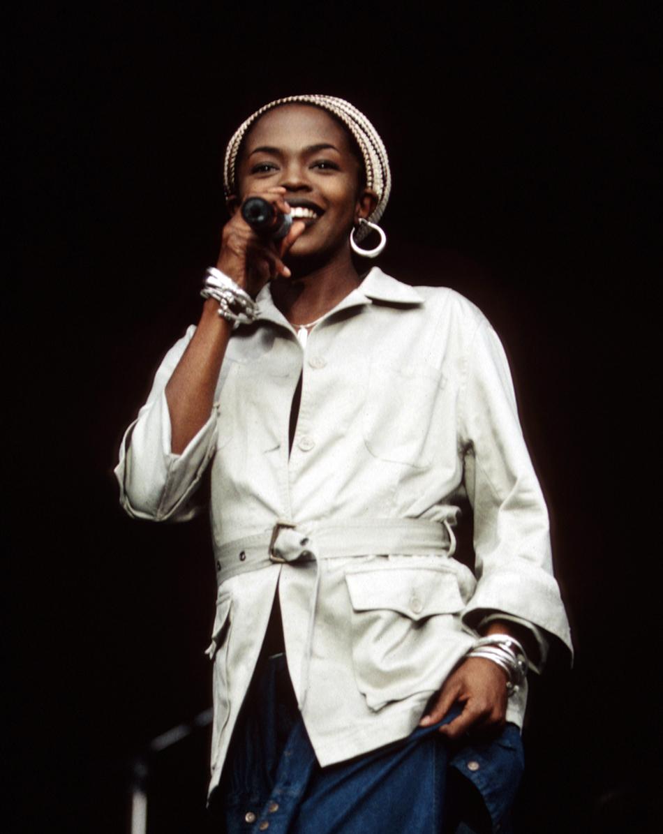 Lauryn Hill durante il Rock Im Park