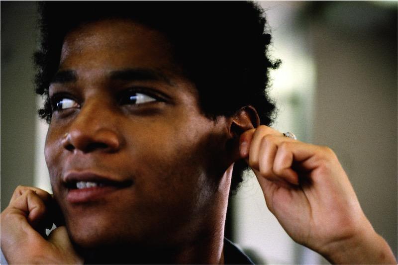 Jean Michel Basquiat. Foto: Lee Jaffe