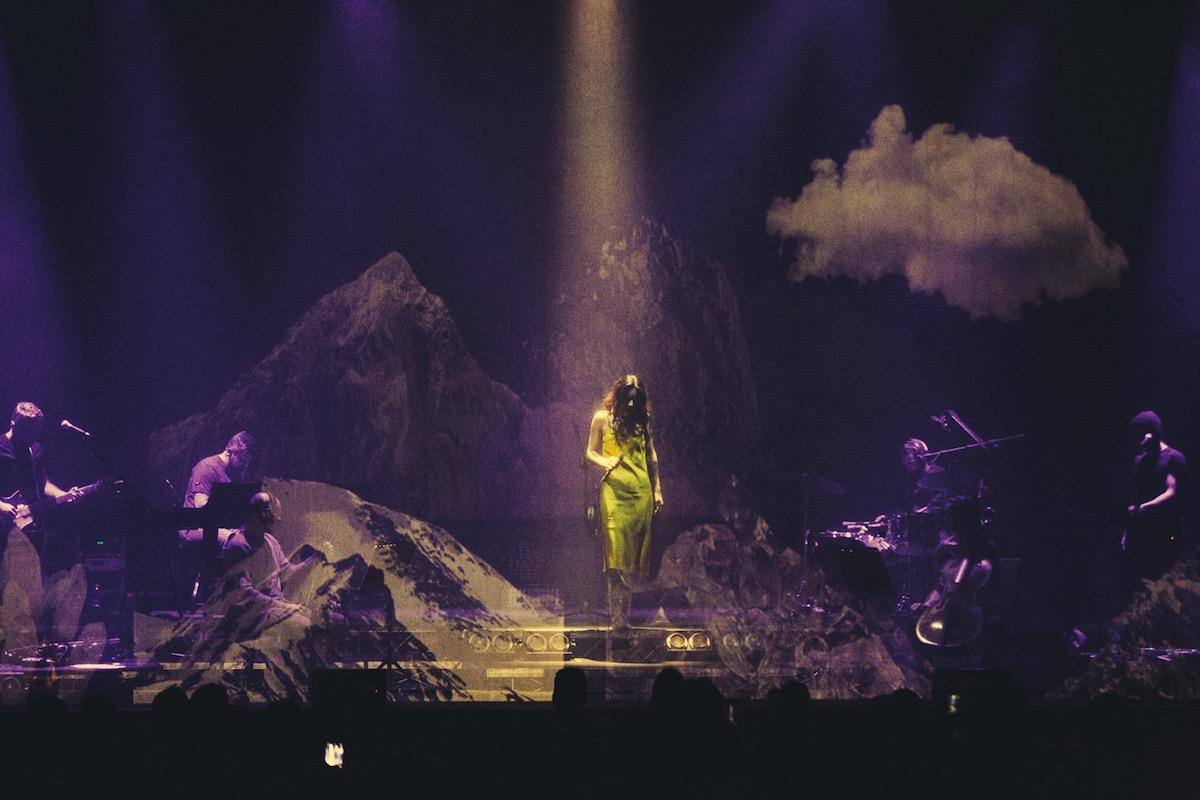 Levante in concerto all'Auditorium Parco della Musica (Roma)