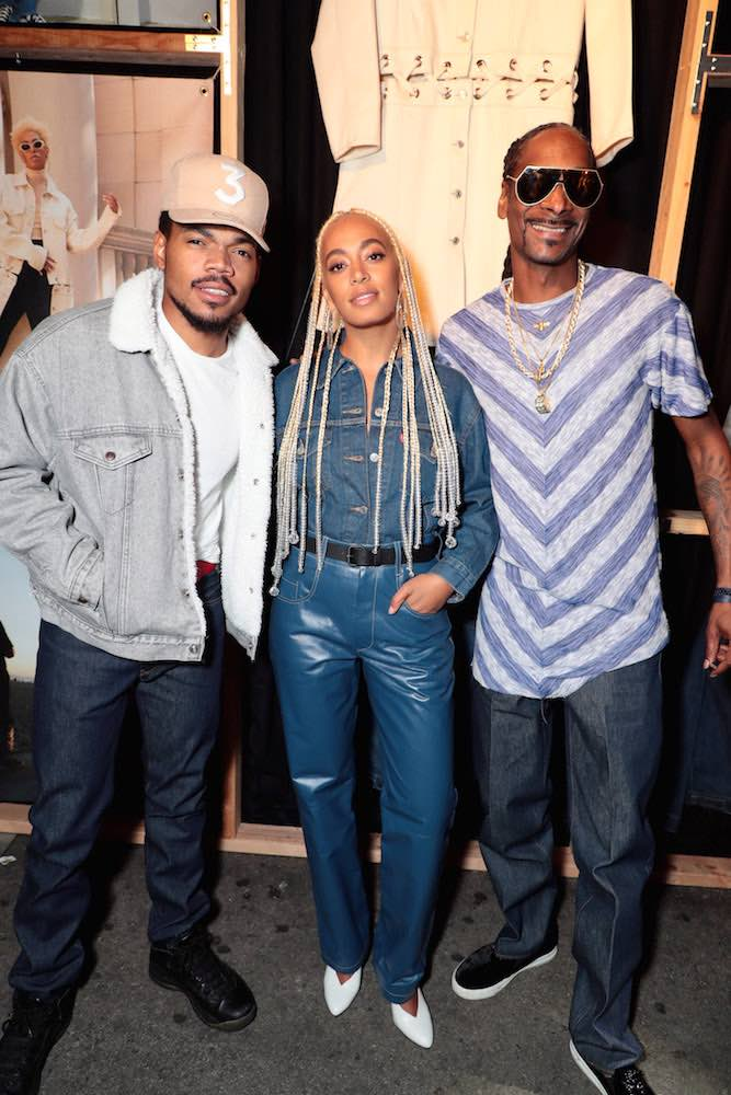 Chance The Rapper, Solange, Snoop Dogg