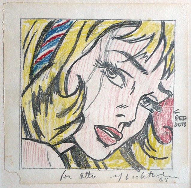 Collection of Marsha and Jeffrey Perelman © Estate of Roy Lichtenstein / SIAE 2014