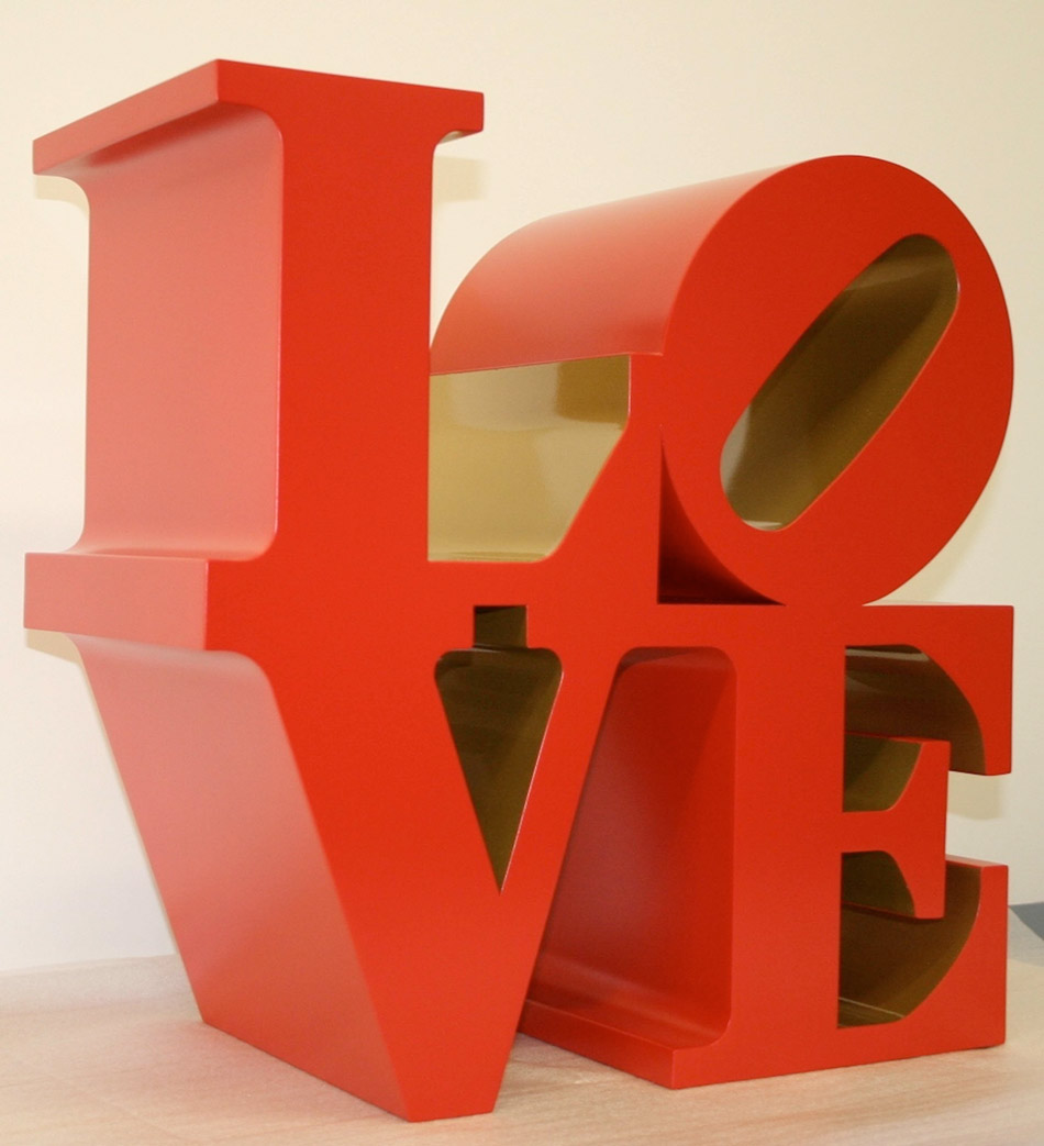 """Love"" © Robert Indiana by SIAE 201"