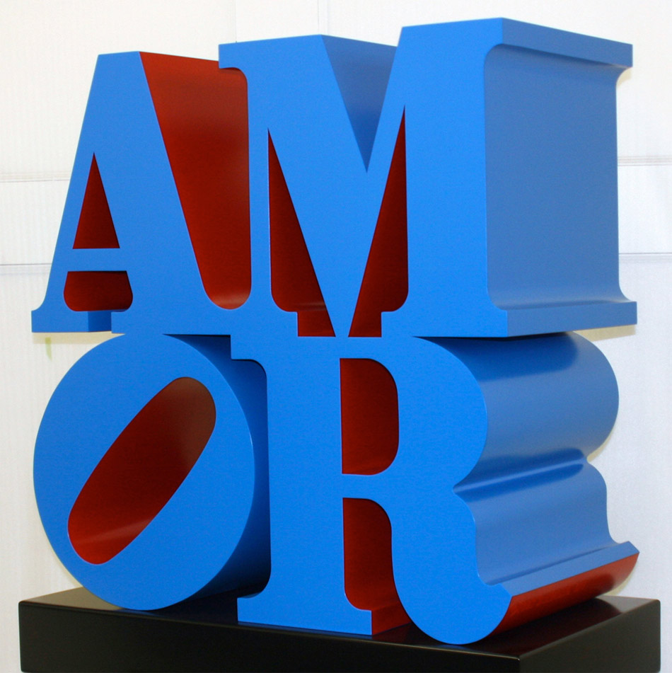 """Amor"" © Robert Indiana by SIAE 2"