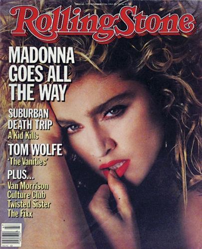 Rolling Stone Usa, Settembre 1984