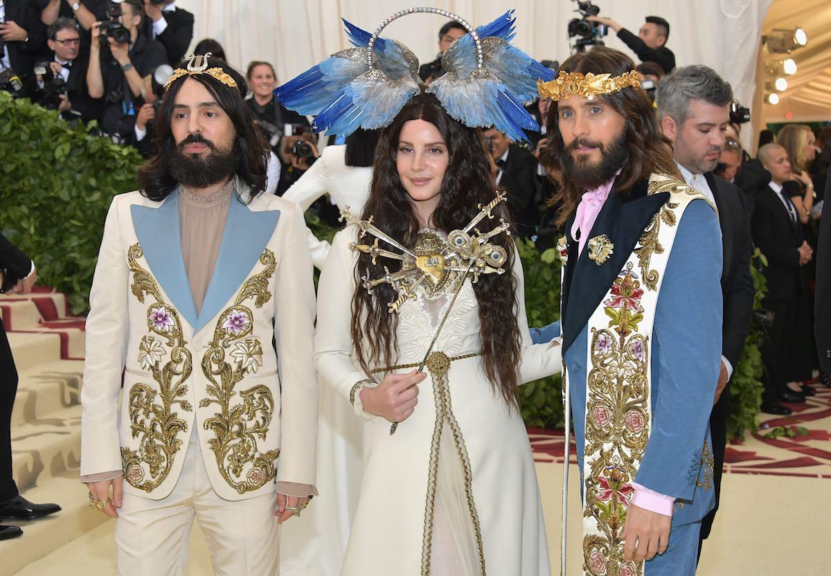 Alessandro Michele, Lana Del Rey e Jared Leto in Gucci