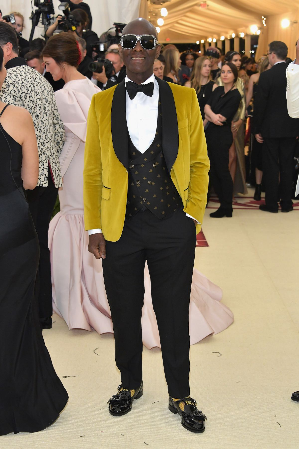 Dapper Dan in Gucci