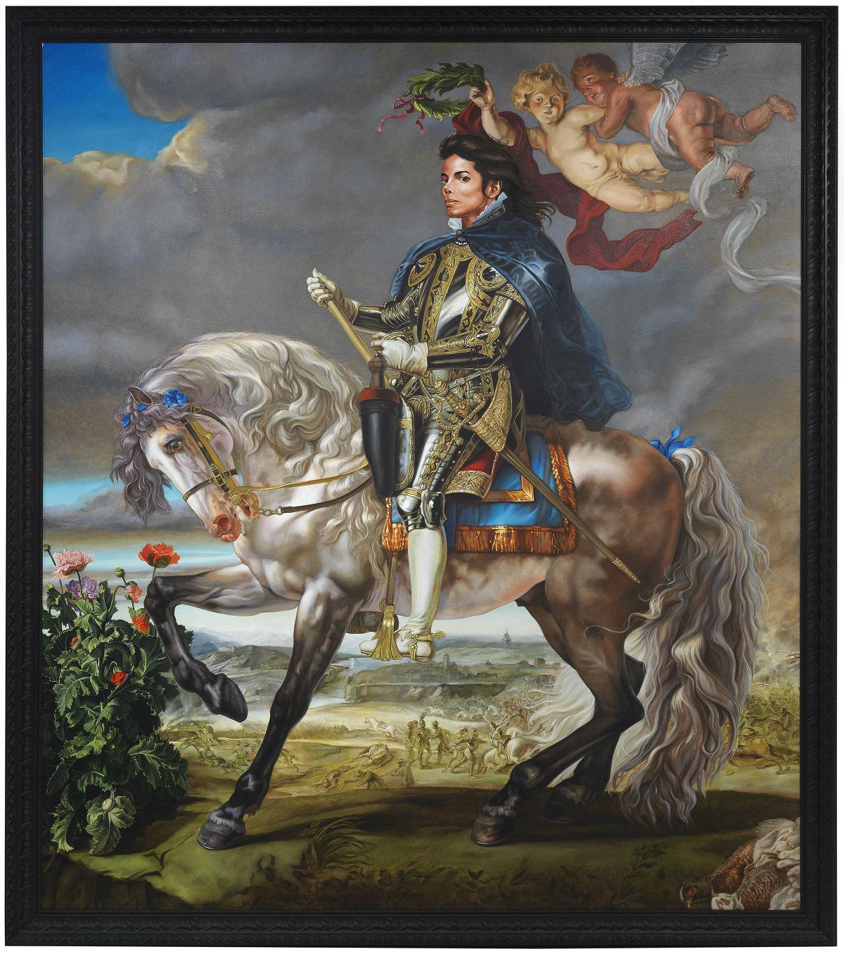 Equestrian Portrait of King Philip II