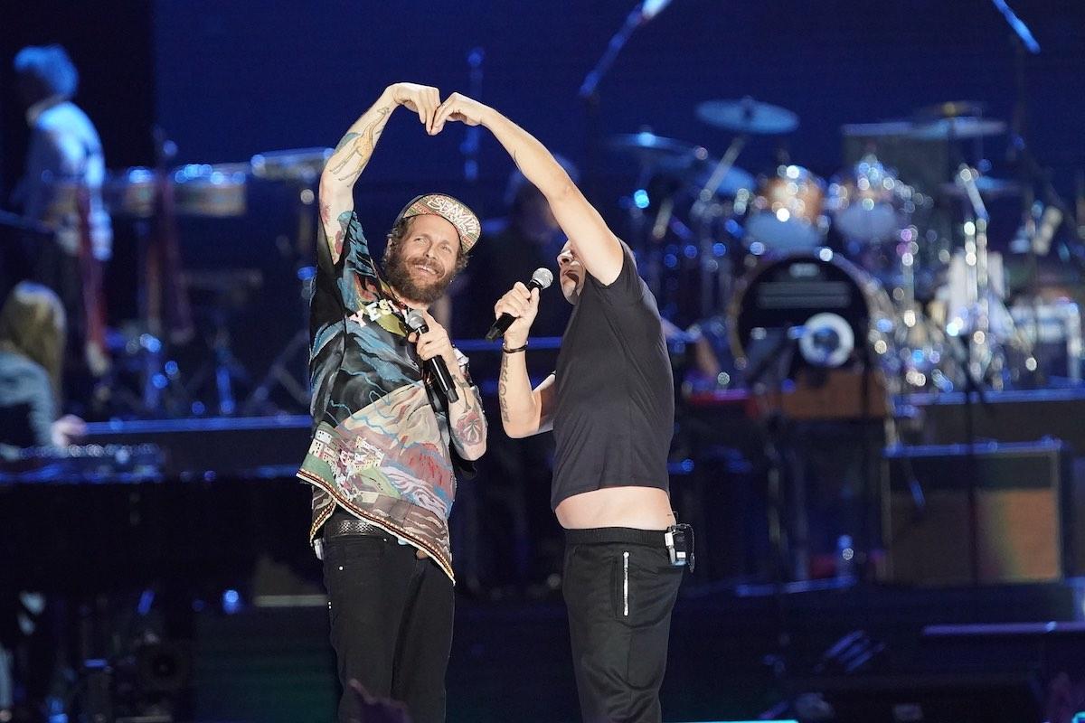 Jovanotti e Eros Ramazzotti