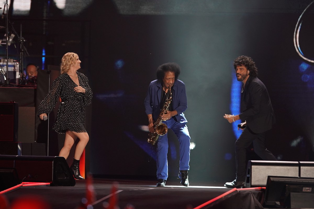 Emma Marrone, James Senese e Francesco Renga