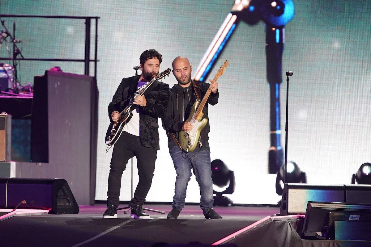 Federico Zampaglione e Giuliano Sangiorgi