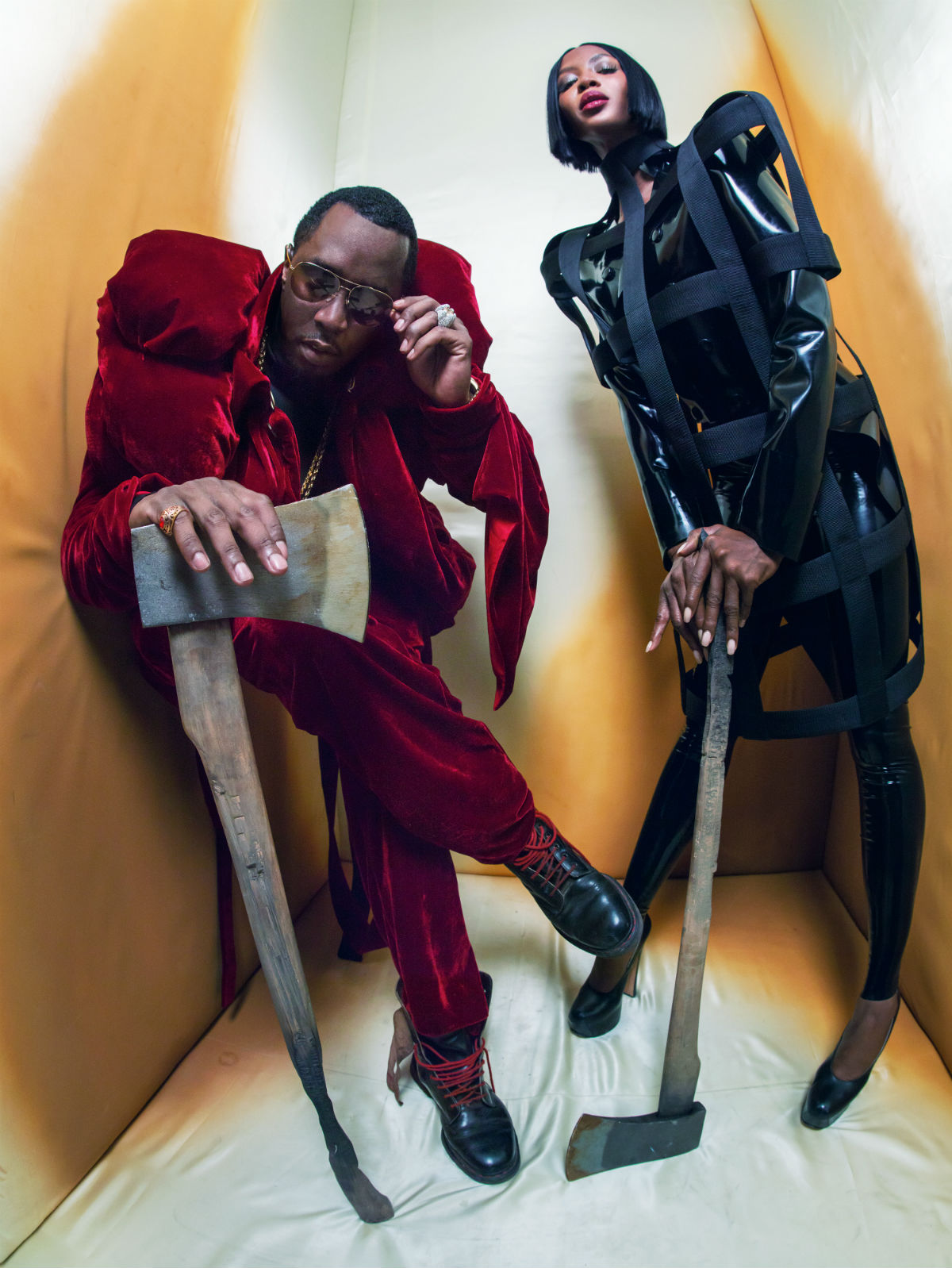 Naomi Campbell e Diddy