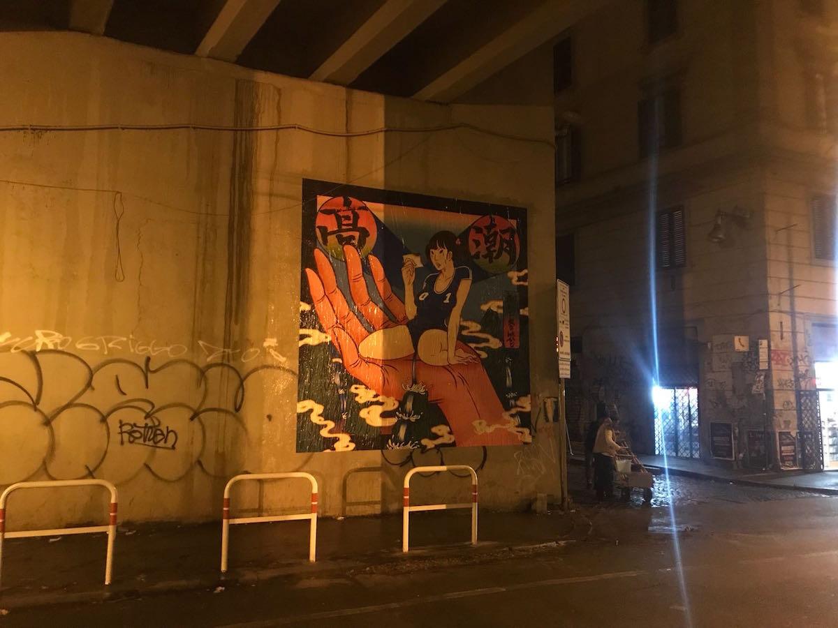Il poster a Roma