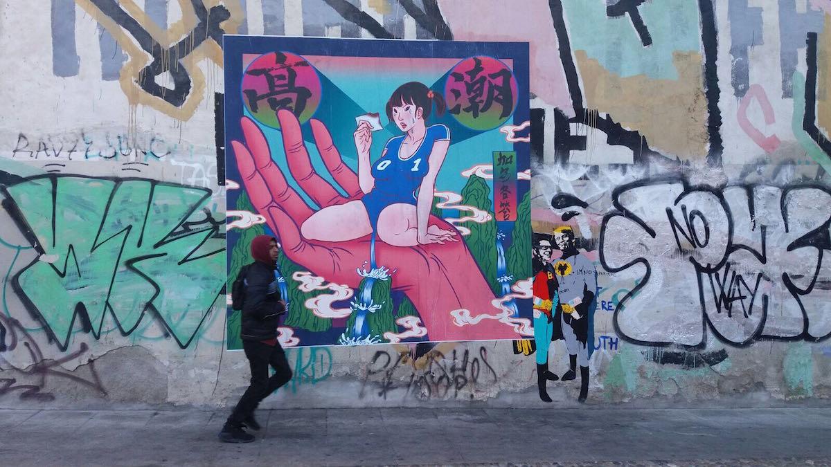 Il poster a Milano