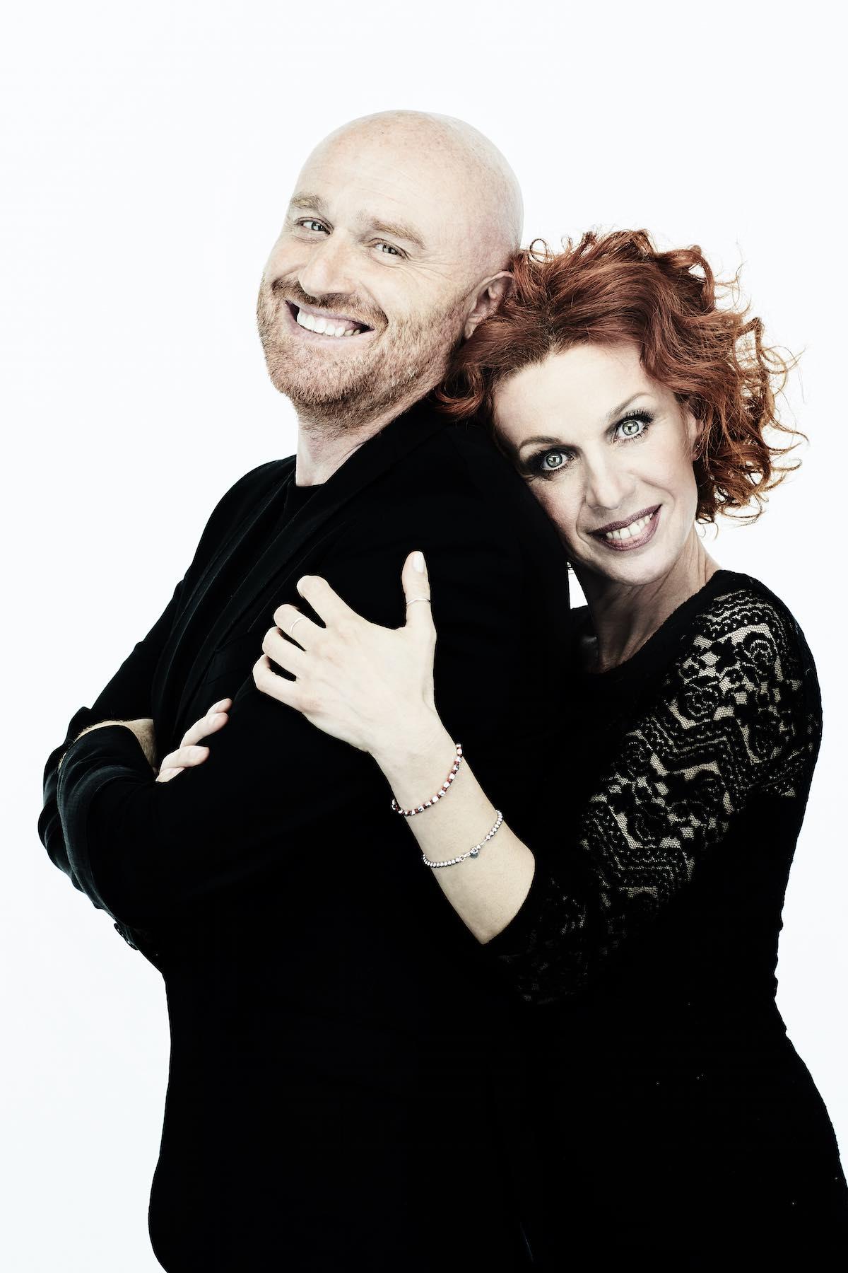 Rudy Zerbi e Laura Antonini