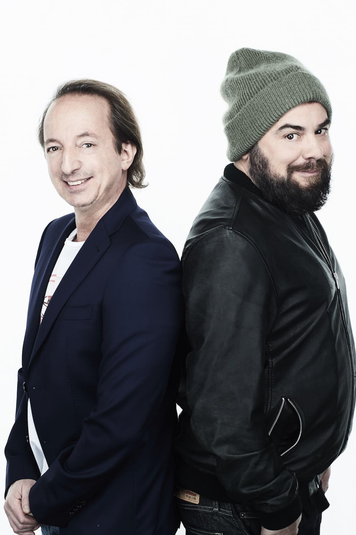 Roberto Ferrari e DJ Angelo