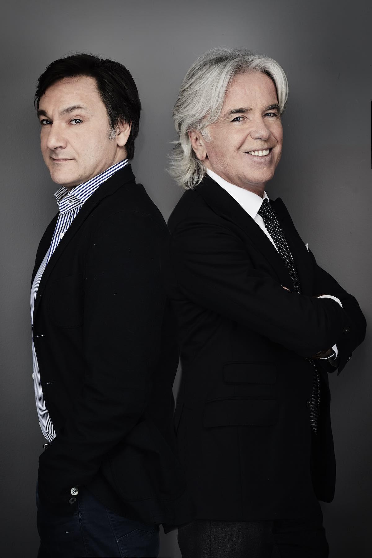 Fabio Caressa e Ivan Zazzaroni