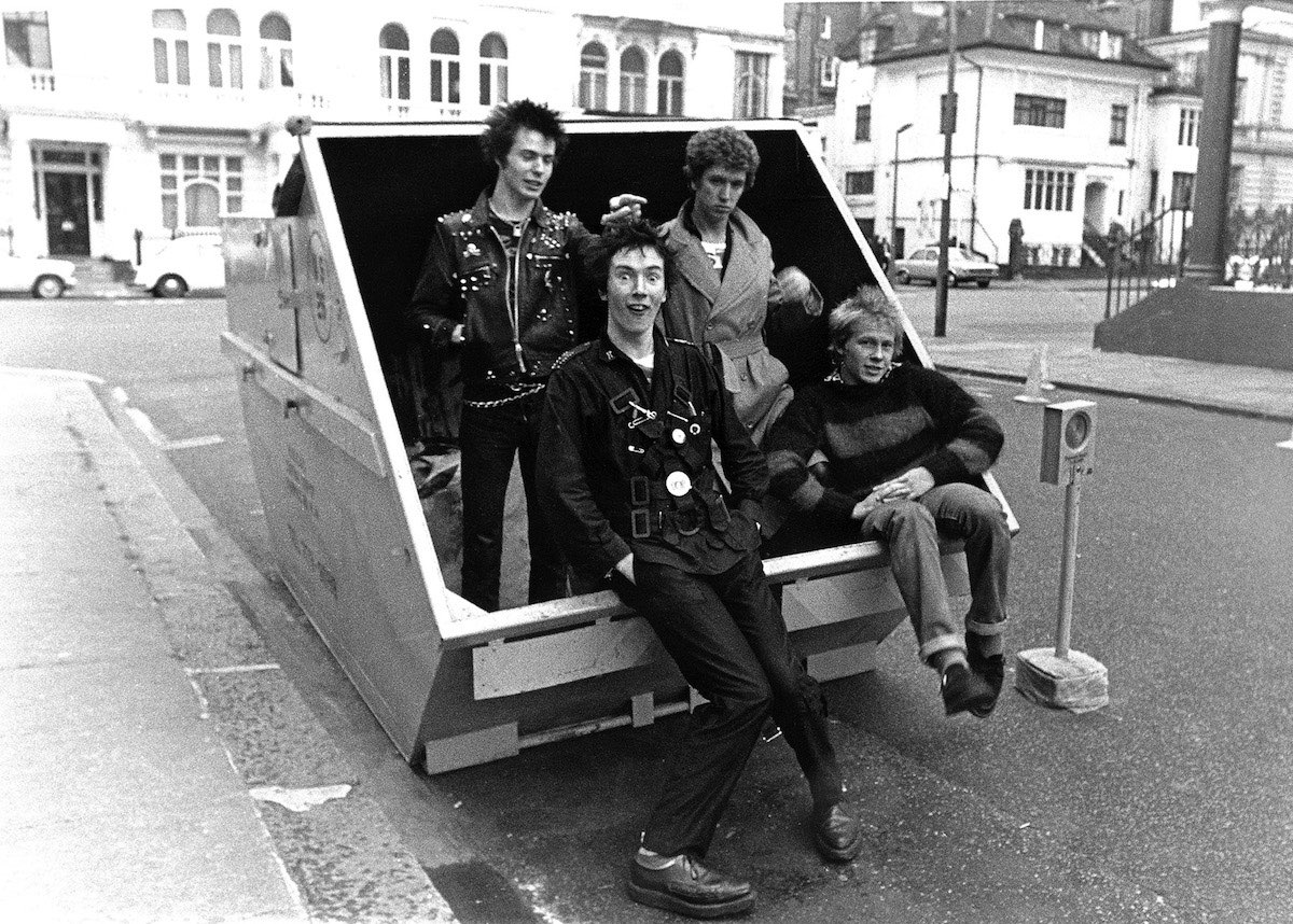 Sex Pistols  ©JanetteBeckman 1977 Courtesy of Fahey:Klein Gallery, Los Angeles