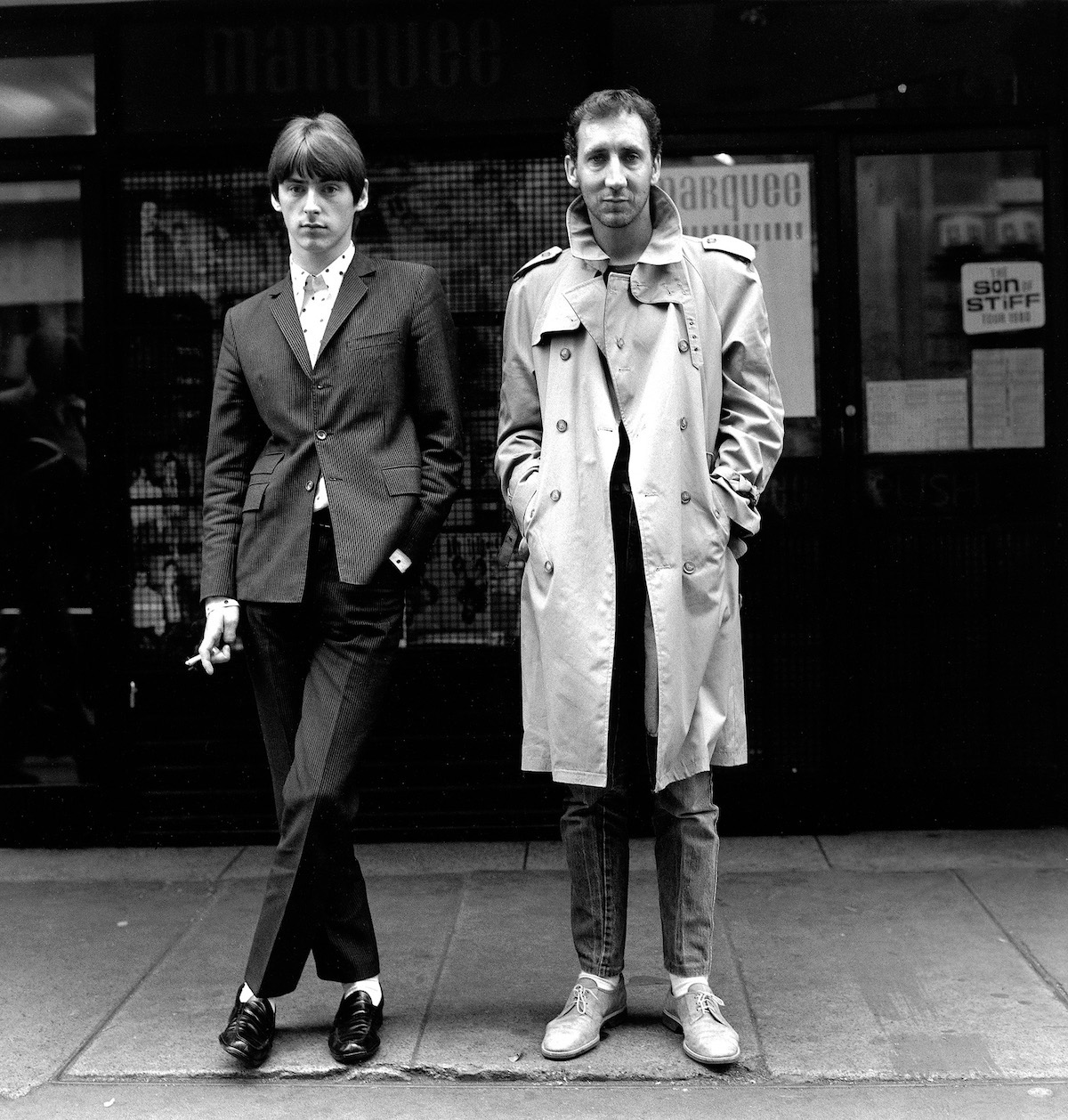 Paul Weller & Pete Townshend ©JanetteBeckman 1980 Courtesy of Fahey:Klein Gallery, Los Angeles