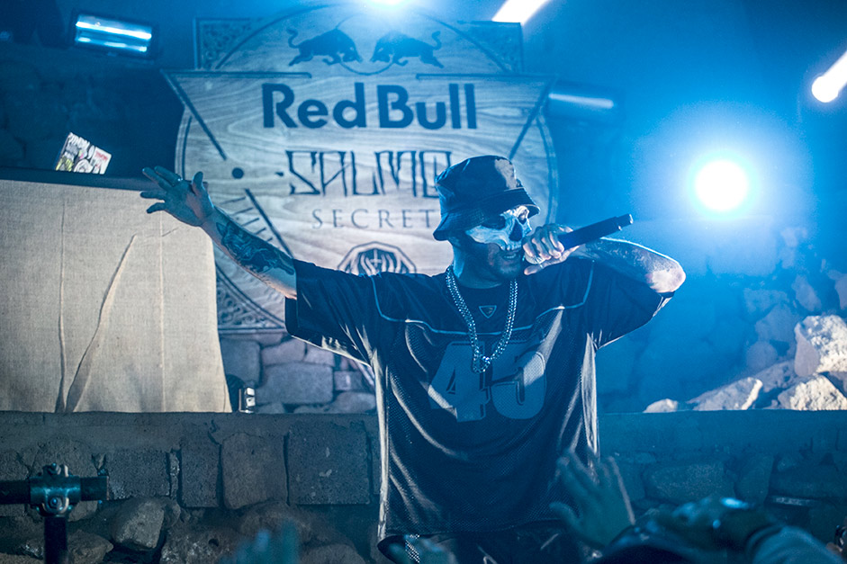 Red Bull Salmo Secret a Napoli