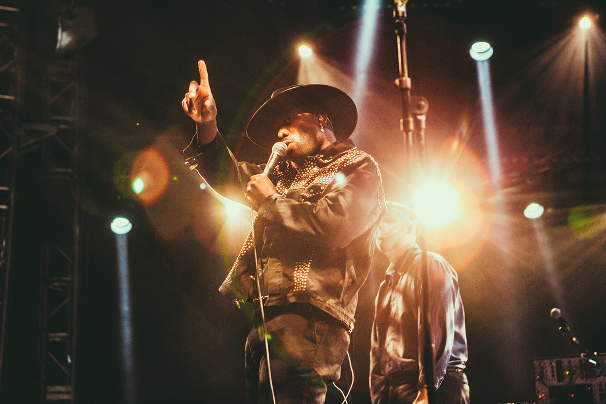 Young Fathers @ Roskilde Festival 2018