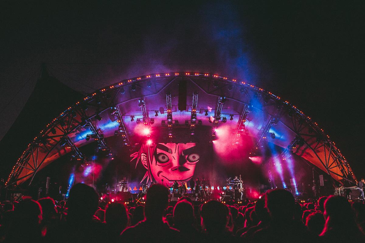 Gorillaz @ Roskilde Festival 2018