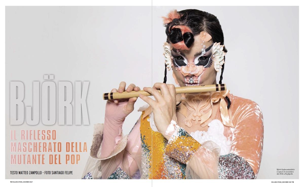 Björk, foto di Santiago Felipe