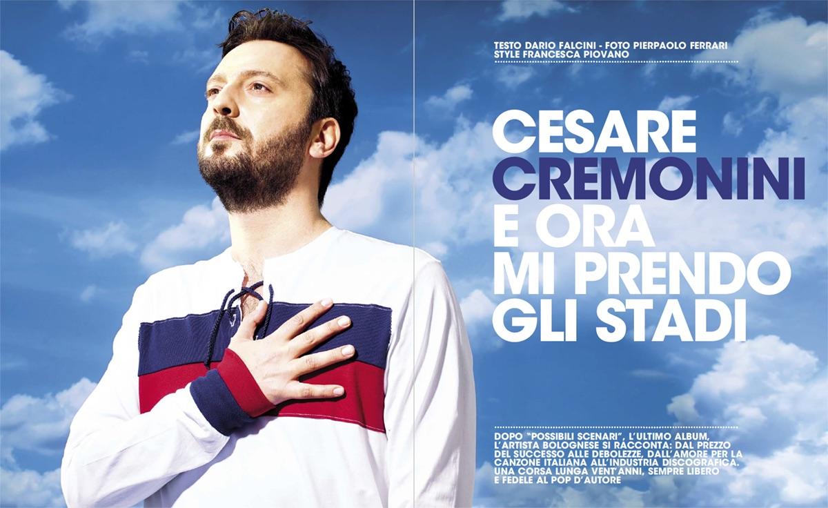 Cesare Cremonini, foto di Pierpaolo Ferrari