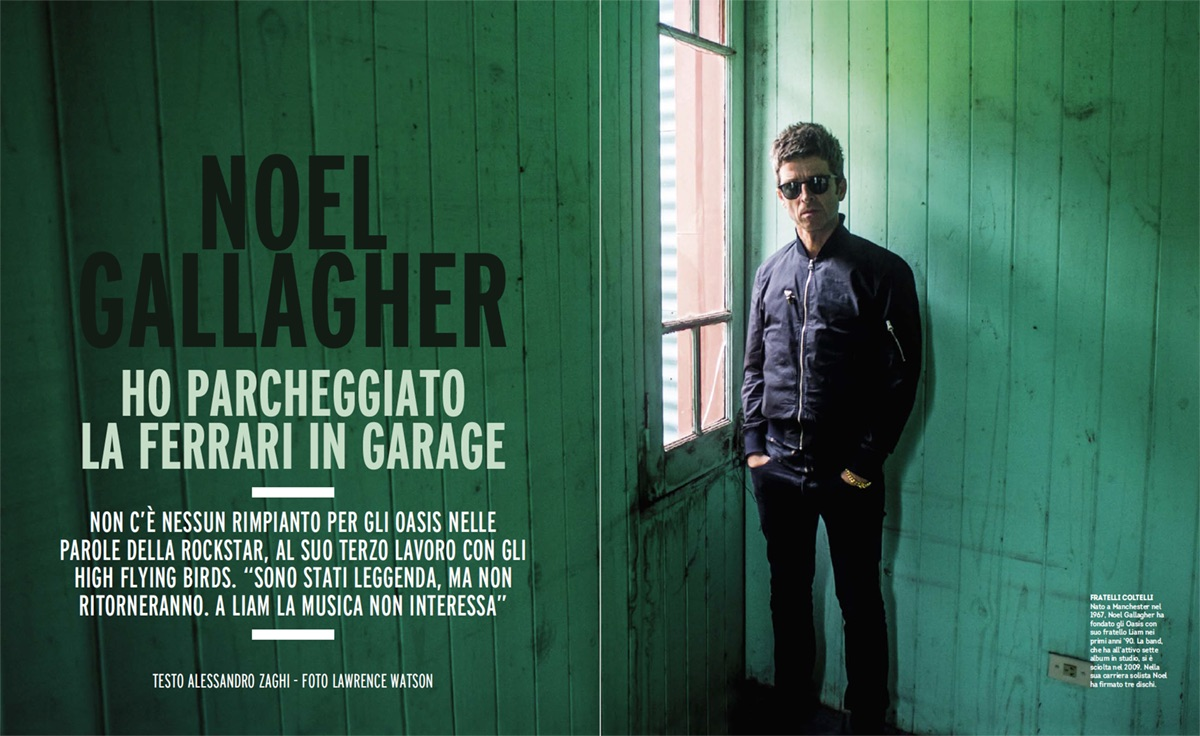 Noel Gallagher, foto di Lawrence Watson