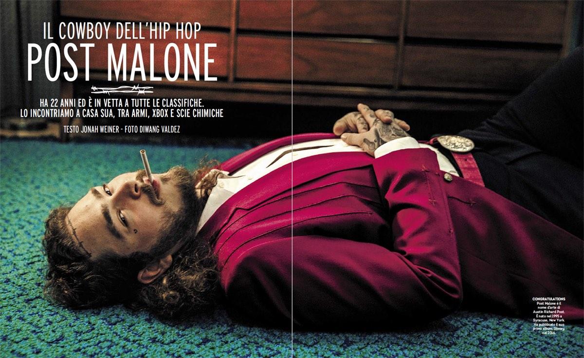 Post Malone, foto di Diwang Valdez