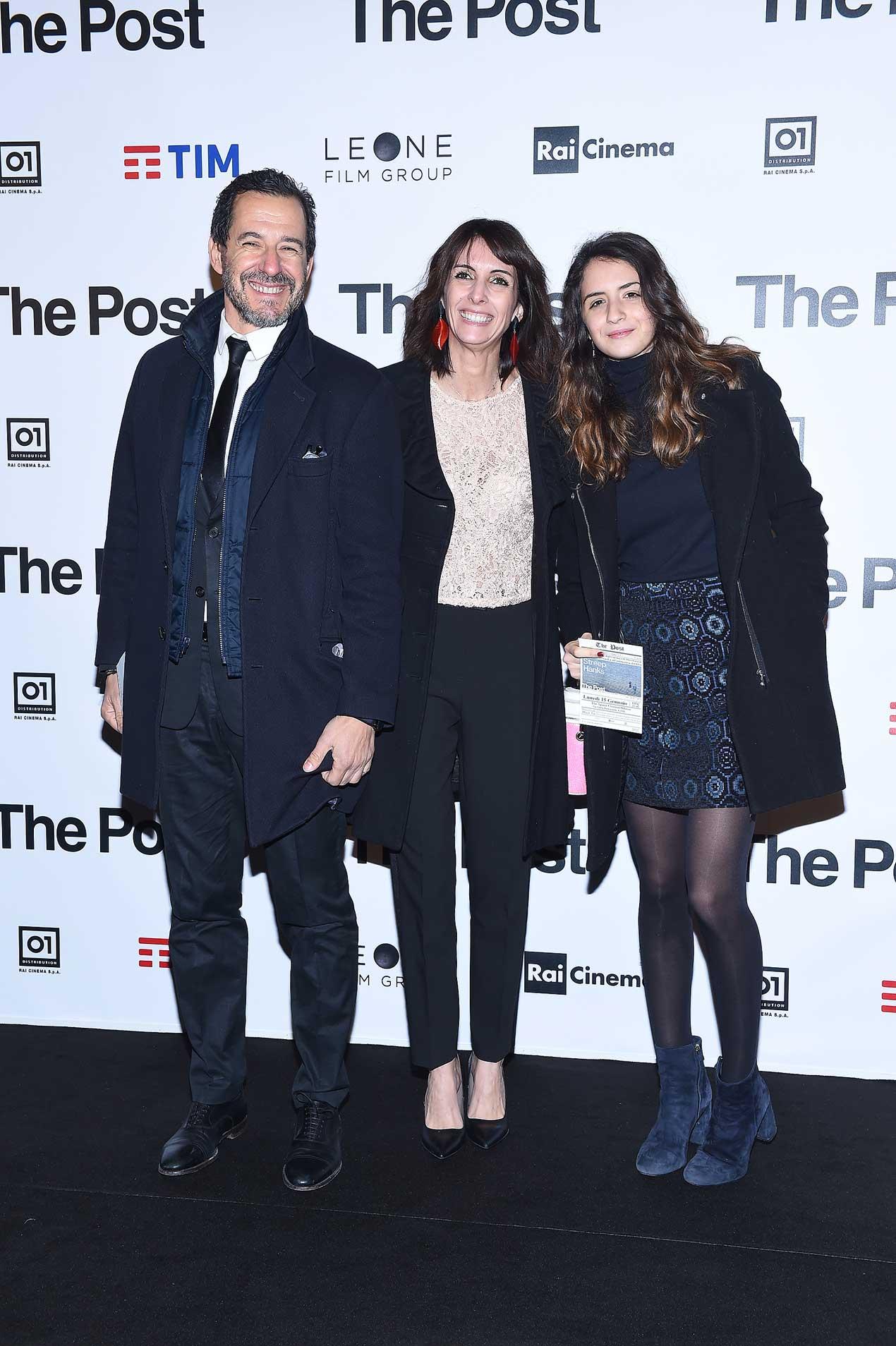Stefano Guindani, Alessia Vignali e Nicole Guindani