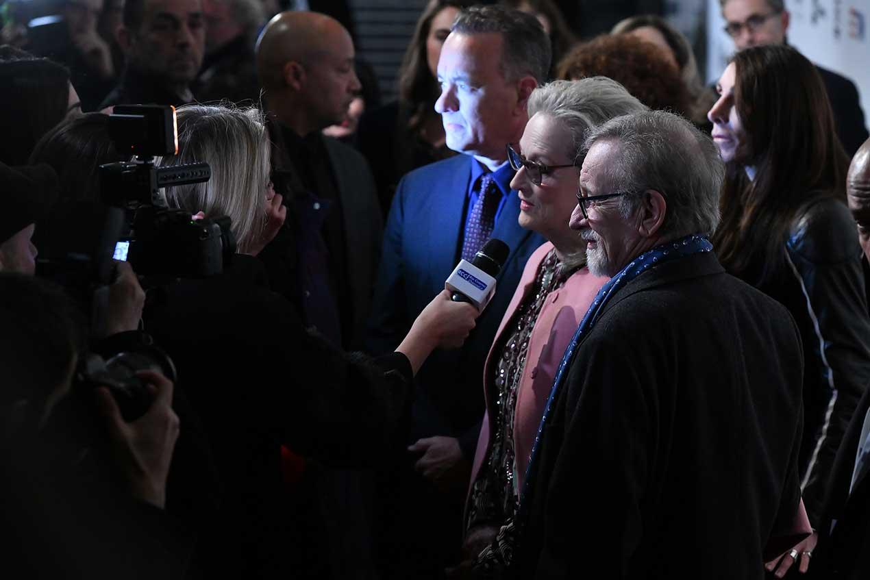 Tom Hanks, Meryl Streep, Steven Spielberg