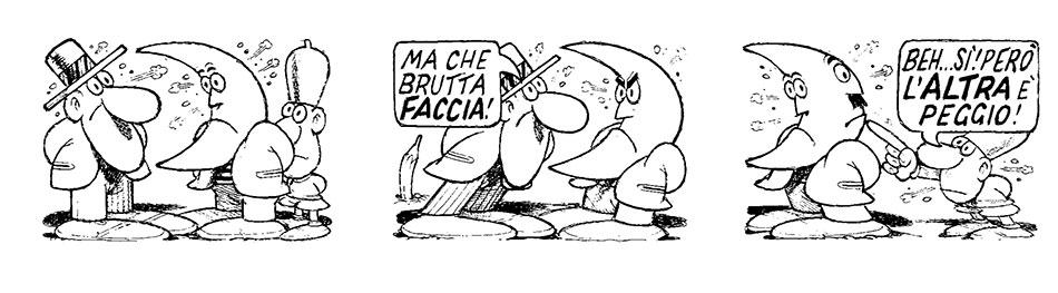Illustrazione Benito Jacovitti