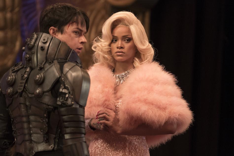 Dane DeHaan e Rihanna in 'Valerian e la città dei mille pianeti'