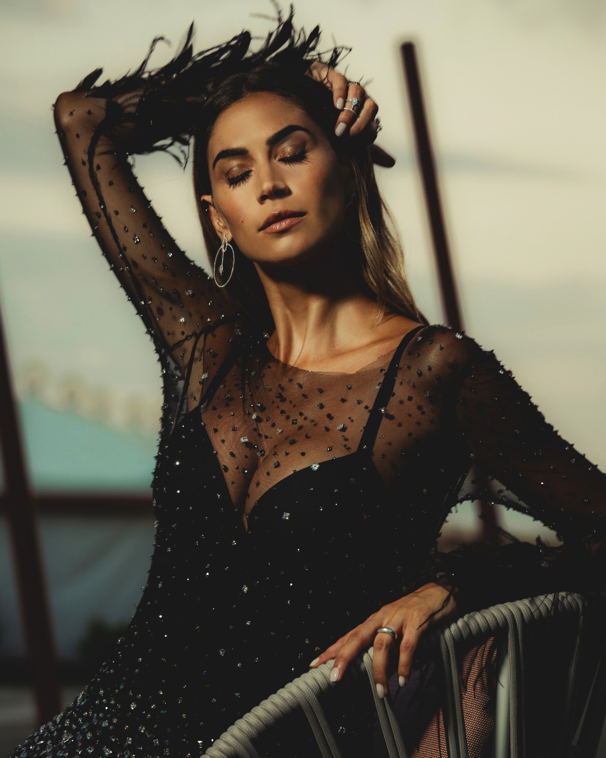 Melissa Satta - Make up Giorgio Armani Beauty