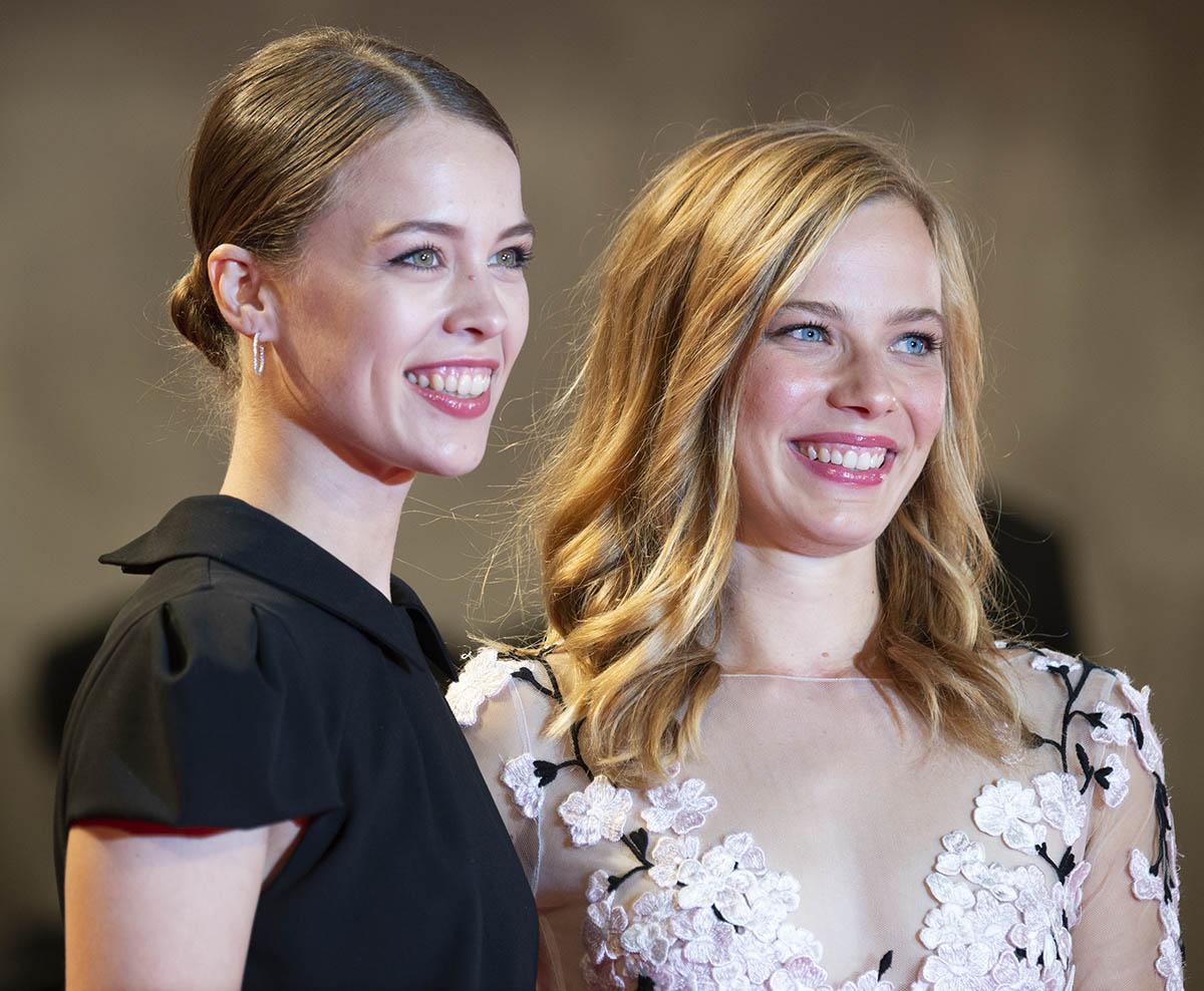 Paula Beer e Saskia Rosendahl - Make up  Giorgio Armani Beauty