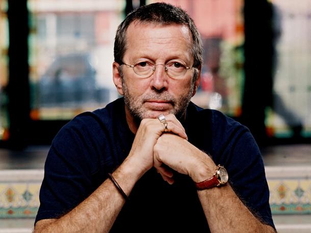 Clapton per gentile concessione Warner Music Group