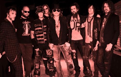 Guns N' Roses nuova formazione dj ashba axl rose