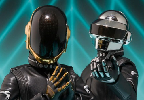 la action figure a forma di Daft Punk!