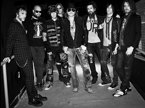 Guns N roses, Axl Rose ritiro Las Vegas