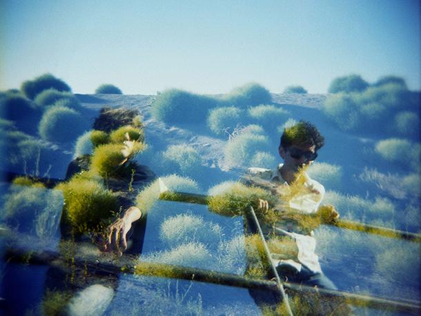 Gli MGMT fotografati da Danny Cling, p.g.c. Sony Music