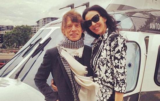 Rolling Stones: morta L'Wren Scott, compagna di Mick Jagger