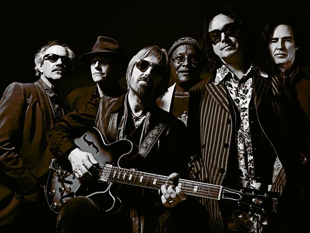 Tom Petty con gli Heartbreakers, Foto Warner Music