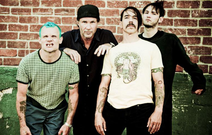 I Red Hot Chili Peppers in sutdio da settembre 2014