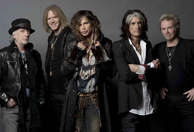 Gli Aerosmith fotografati da Ross Halfin