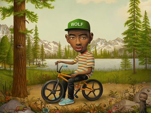 Tyler the Creator Mark Ryden Wolf