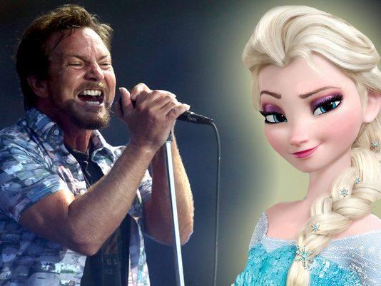 """I Pearl Jam e il fenomeno Disney """"Frozen"""""""