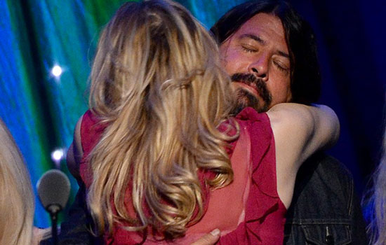 Courtney Love e Dave Grohl: è tempo di fare pace
