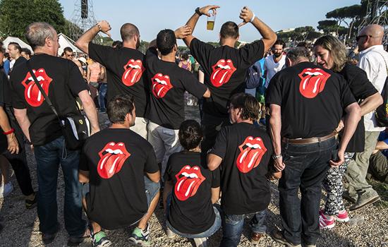 Eravate in tanti a vedere gli Stones... e noi vi abbiamo fotografato!