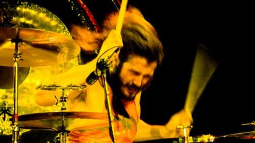 John Bonham - Screeenshot del live @ BBc 6 Music