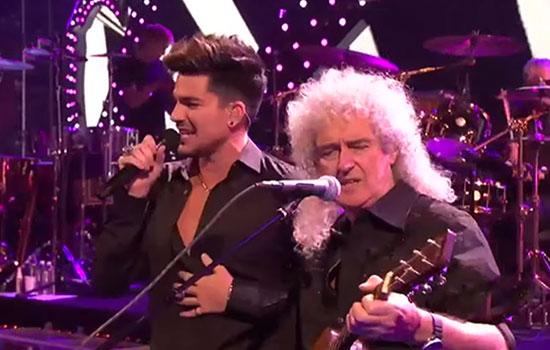 Adam Lambert coi Queen live @iHeartRadio | Screenshot YouTube